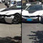تصادف میلیاردی در تهران ( عکس + گزارش کامل )