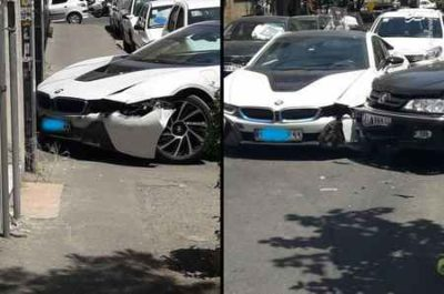 تصادف میلیاردی در تهران