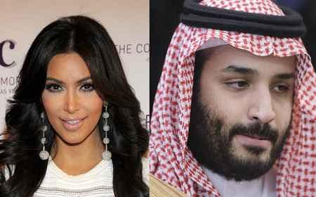 رسوایی اخلاقی کیم کارداشیان و ولیعهد .عربستان