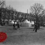 عکس قدیمی میدان توپخانه تهران در دوران پهلوی