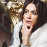 عکس جدید مارال فرجاد مدل برند لامبورگینی
