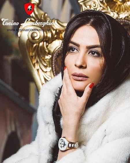 مارال فرجاد مدل برند لامبورگینی