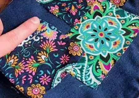 آموزش تزیین شلوار جین دخترانه 3 آموزش تزیین شلوار جین دخترانه