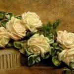 آموزش ساخت گل رز با روبان