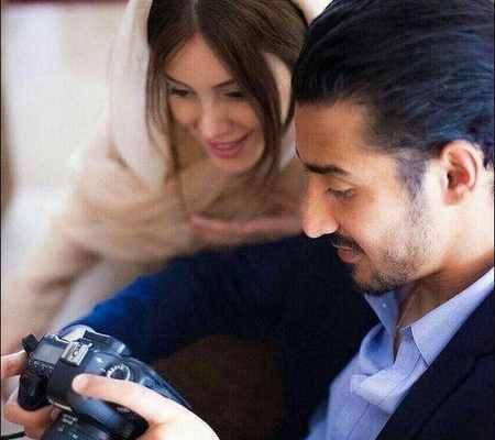 ابی و حسین تهی در مراسم عروسی رضا قوچان نژاد (2)
