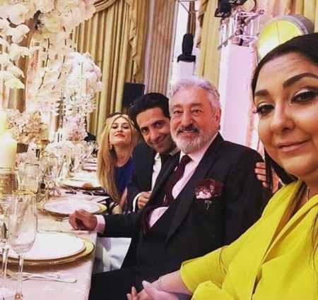 ابی و حسین تهی در مراسم عروسی رضا قوچان نژاد (5)