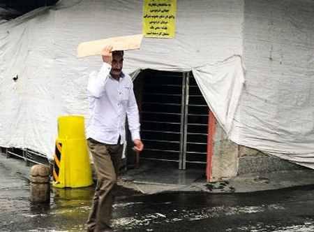 بارش باران تابستانی در تهران 6 بارش باران تابستانی در تهران