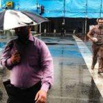 بارش باران تابستانی در تهران