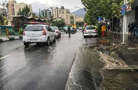 بارش باران تابستانی در تهران 8 بارش باران تابستانی در تهران