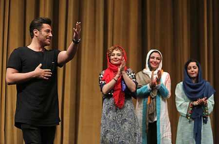 جشن فیلم آینه بغل با اجرای محمدرضا گلزار (8)