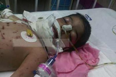 حمله گرگ به کودک 3 ساله سنقری
