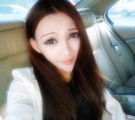 صورت مثلثی دختر چینی سوژه رسانه ها شد (1)