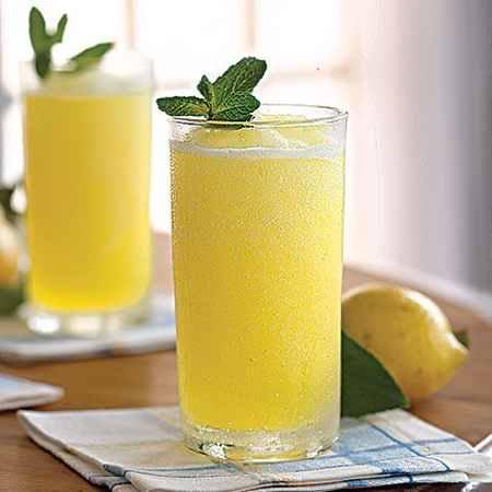 طرز تهیه لیموناد نعنایی طرز تهیه لیموناد نعنایی