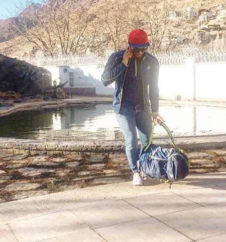 عکس های امیر مقاره خواننده ماکان باند (9)