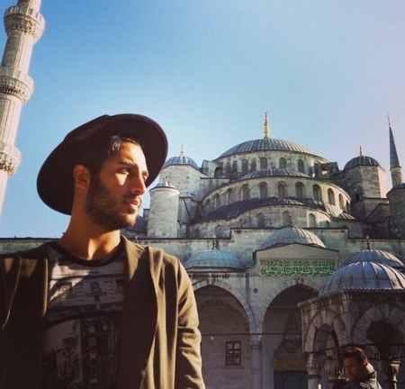 عکس های رهام هادیان خواننده ماکان باند (8)