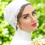 عکس های هانیه غلامی و همسرش در فستیوال عروس