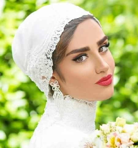عکس های هانیه غلامی و همسرش در فستیوال عروس (2)