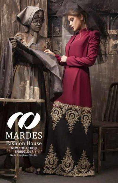 مدل مانتو مجلسی برند ماردس Mardes (1)