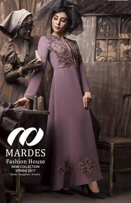 مدل مانتو مجلسی برند ماردس Mardes (4)