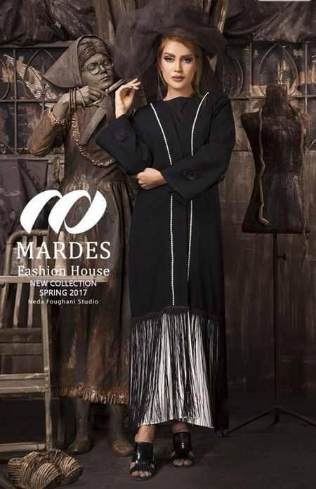 مدل مانتو مجلسی برند ماردس Mardes (8)