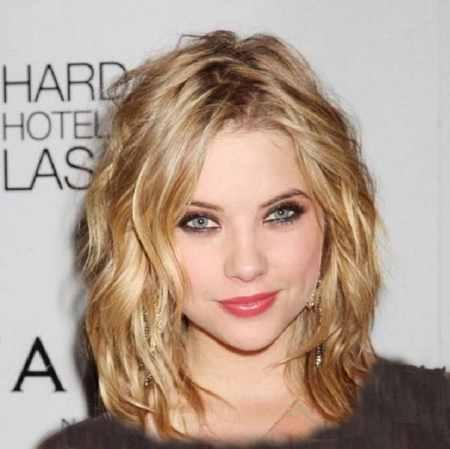 مدل مو کوتاه موج دار دخترانه (11)