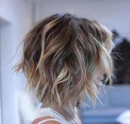مدل مو کوتاه موج دار دخترانه (19)