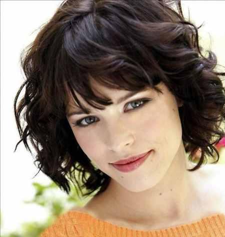 مدل مو کوتاه موج دار دخترانه (6)