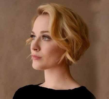 مدل مو کوتاه موج دار دخترانه (8)