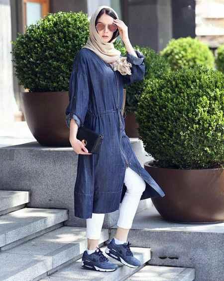 مدل های مانتو اسپرت دخترانه (4)