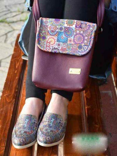 مدل های کیف و کفش طرح دار برند لیرو (1)
