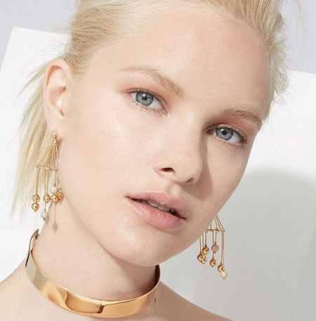 مدل گوشواره طلا با طرح های خاص 2017 3 مدل گوشواره طلا با طرح های خاص 2017