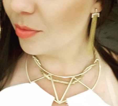 مدل گوشواره طلا با طرح های خاص 2017 7 مدل گوشواره طلا با طرح های خاص 2017