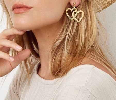 مدل گوشواره طلا با طرح های خاص 2017 8 مدل گوشواره طلا با طرح های خاص 2017