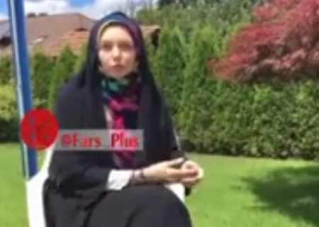 کلیپ واکنش آزاده نامداری به انتشار عکس های شخصی اش کلیپ واکنش آزاده نامداری به انتشار عکس های شخصی اش