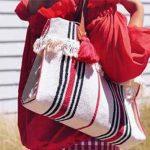 آموزش دوختن کیف دخترانه با پارچه برزنتی