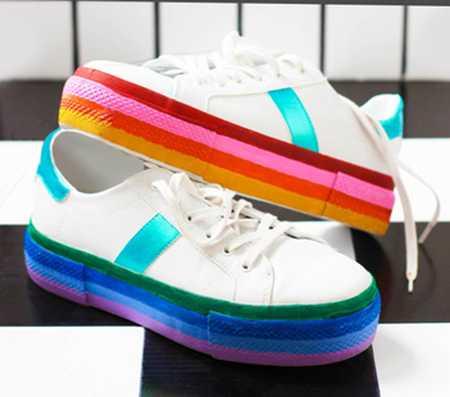 آموزش رنگ آمیزی و تزیین کفش اسپرت (1)