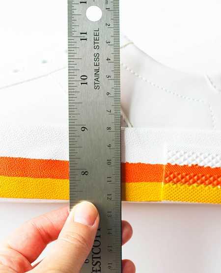 آموزش رنگ آمیزی و تزیین کفش اسپرت (4)