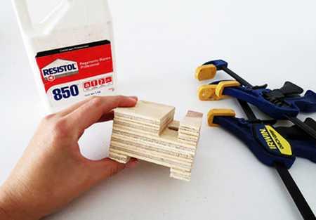 آموزش ساخت جا موبایلی چوبی (6)