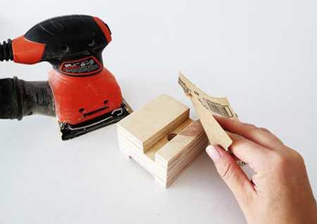 آموزش ساخت جا موبایلی چوبی (7)
