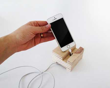 آموزش ساخت جا موبایلی چوبی (9)
