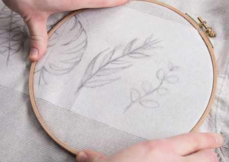 آموزش گلدوزی لباس بافتنی با نخ دمسه 7 آموزش گلدوزی لباس بافتنی با نخ دمسه
