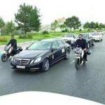 اسکورت مهران مدیری در مشهد خبرساز شد