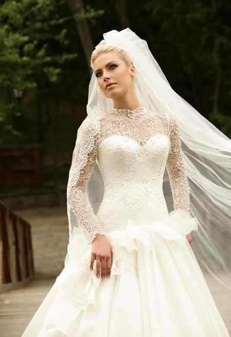 جدیدترین مدل های لباس عروس 2018 (10)