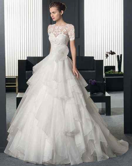 جدیدترین مدل های لباس عروس 2018 (2)