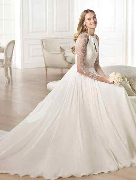 جدیدترین مدل های لباس عروس 2018 (9)