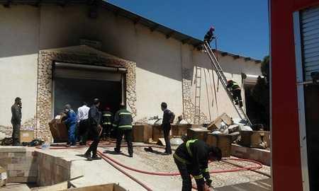 شرکت ایرانسل آتش گرفت