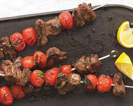 طرز تهیه کباب بره با نعناع و گوجه فرنگی طرز تهیه کباب بره با نعناع و گوجه فرنگی