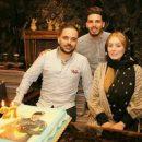 عکس سحر قریشی در جشن تولد برادرش (1)