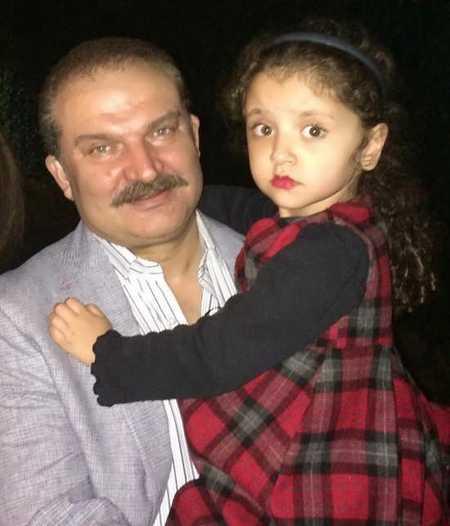عکس مهدی سلطانی و دخترش روژا