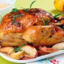 عکس های تزیین مرغ شکم پر (3)